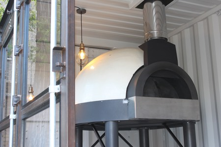 Shipping Container Conversion Dragon Ovens